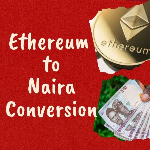 1 Ethereum to Naira (Luno)